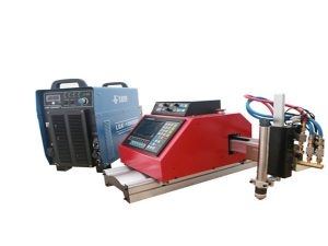 automatska prijenosna cnc plazma stroj za rezanje čelik aluminijski nehrđajući