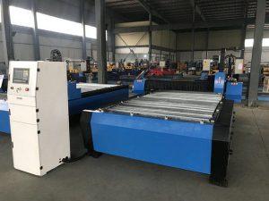 Kina 1325 1530 jeftina kontrola visine baklje plazma huayuan metalnog čelika za rezanje cnc plazma rezanje
