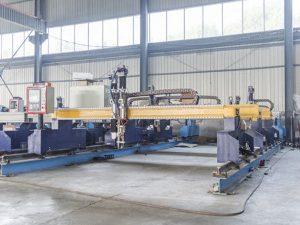 Inteligentna mašina za rezanje metalnih ploča sa CNC automatskom mašinom za rezanje plazme i plamen