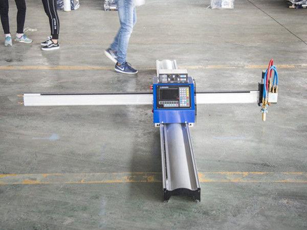 Nova tehnologija mikro START CNC rezač za metal / prijenosni stroj s CNC plazmom za rezanje