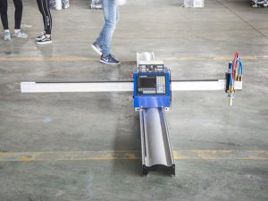 nova tehnologija prijenosni tip cnc stroj za rezanje plazmom cijena male firme za proizvodnju strojeva
