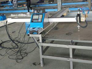 mali prijenosni stroj za rezanje plazme / plina s cnc-om