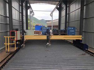 čelični lim veličine 1500x3000mm cnc plazma stroj za rezanje lima