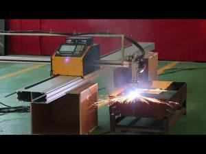 automatizirani cnc pametni mali stroj za rezanje 20 mm čeličnim plazma alatima