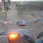 ce Odobrena plamenica za rezanje plamen-stroj za rezanje plazme cnc u tvornici u Kini