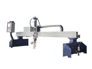 visoko efikasna gantry cnc mašina za rezanje plazmom / mašina za rezanje plamenom cnc