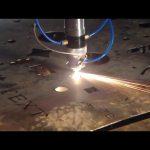 proizvedena u Kini trgovinsko osiguranje jeftina cijena prijenosni rezač CNC plazma rezanje za nehrđajući čelik metalno željezo
