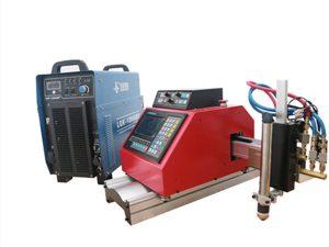 prijenosna cnc plazma, plin, plamen, stroj za rezanje limova od kisika s THC-om