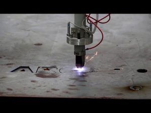 tanka i debela ploča sa CNC plazmom za rezanje