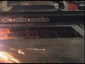 garancija trgovine jeftina cijena prijenosni stroj za rezanje s plazmom cnc za nehrđajući čelik matel iro